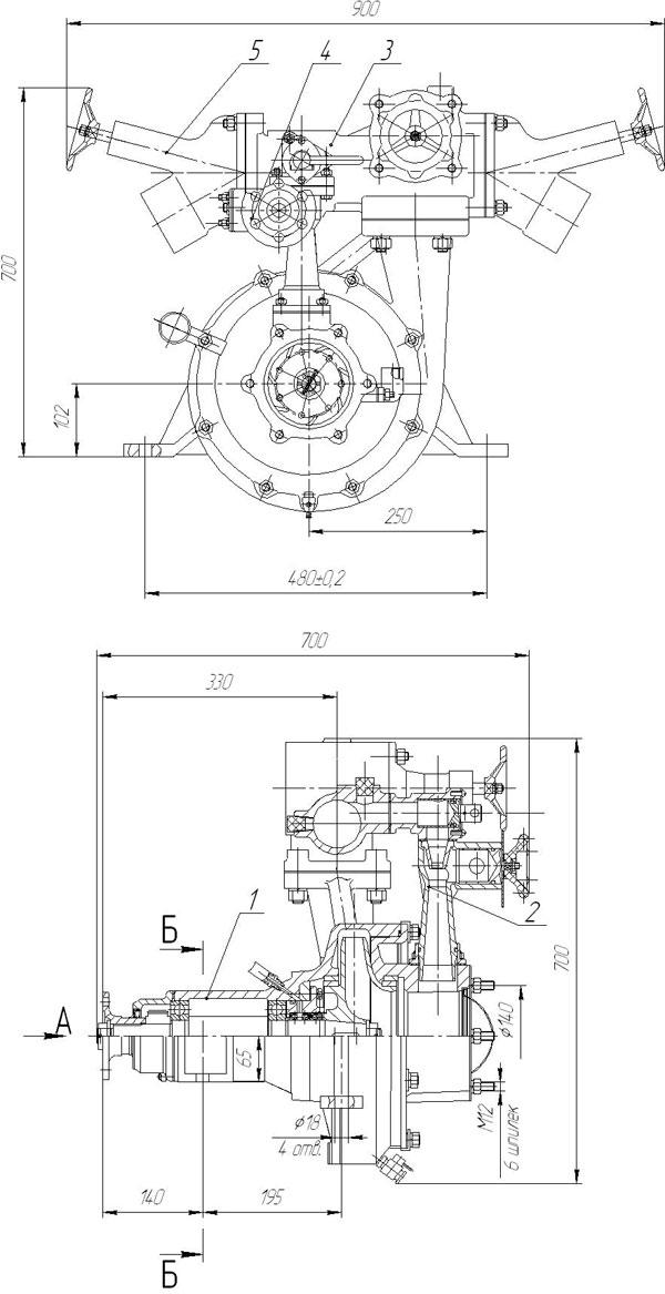 Схема ПН-40УВ, ПН-40УВ.01,
